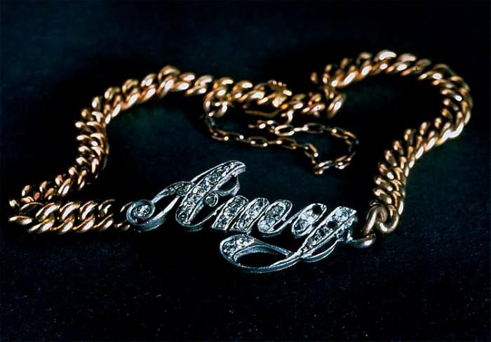 gioielli del titanic bracciale amy catena oro diamanti