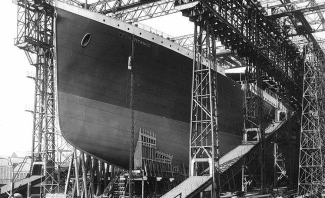 gioielli del titanic costruzione nave transatlantico
