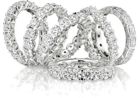 solitario trilogy veretta diamanti anello scegliere