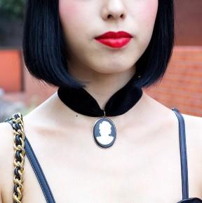 gioielli con cammeo ciondolo collier