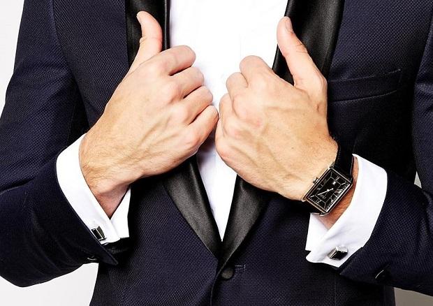gioielli da uomo gemelli da polso camicia abbinamento orologio