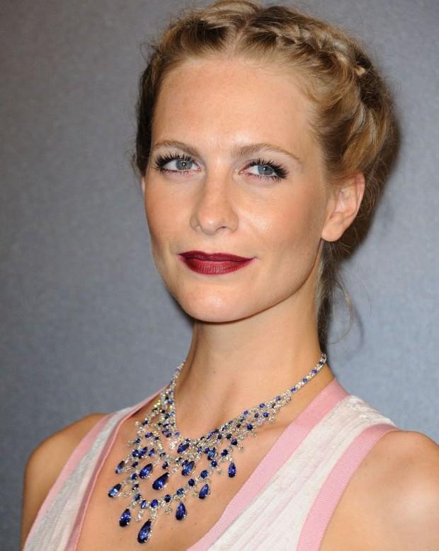 gioielli del festival di cannes 2015 poppy delinvigne collana chopard zaffiri diamanti
