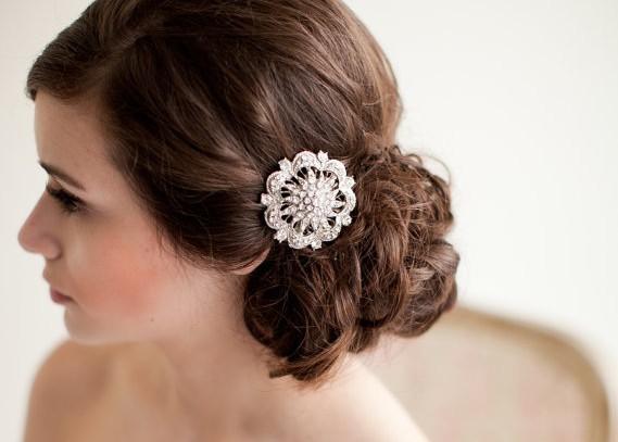 come indossare le spille da scegliere gioielli capelli sposa