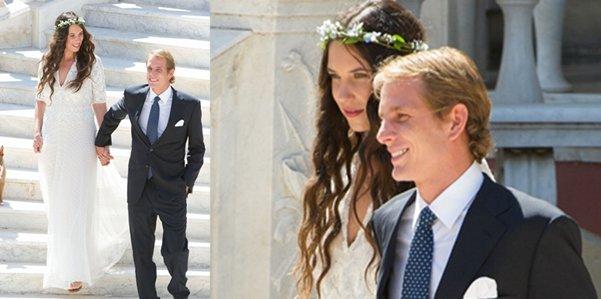 gioielli matrimoni reali andrea casiraghi principato di monaco tatiana santo domingo
