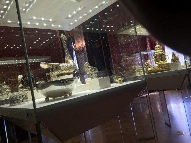 gioielli di san pietroburgo museo fabergè uova argenti