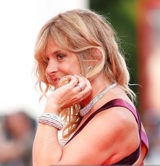 gioielli festival di venezia 2015 nastassja kinski bracciale collier anelli diamanti