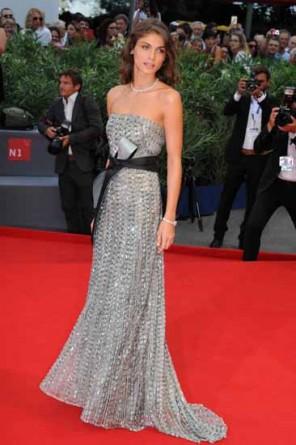 gioielli festival di venezia 2015 elisa sednaoui collier diamanti