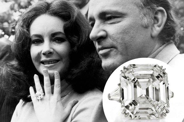 tagli delle pietre anello fidanzamento richard burton Elizabeth-Taylor-diamante taglio asscher