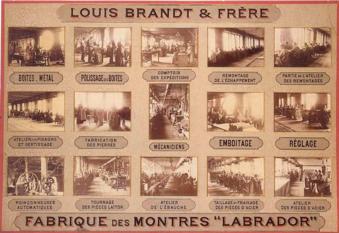 Orologi Omega Louis Brandt fondatore marchio