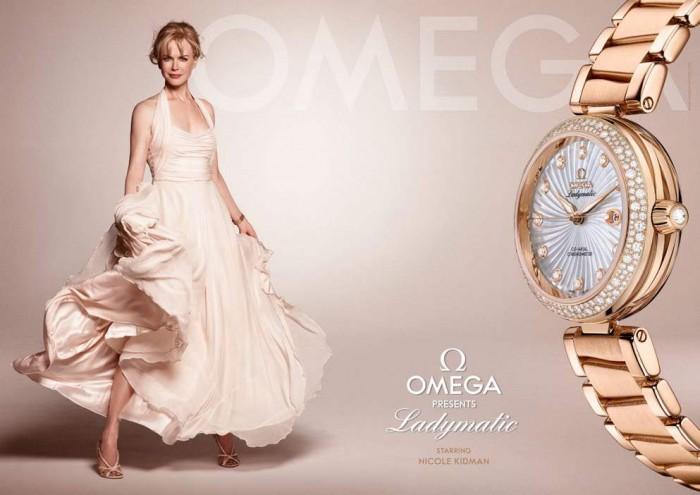 orologi omega ladymatic da donna nicole kidman de ville