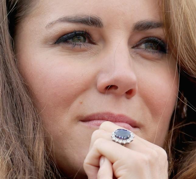 tagli delle pietre anello fidanzamento kate middleton zaffiro lady diana