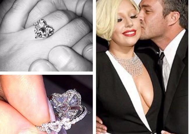 tagli di pietre diamante taglio cuore lady gaga anello fidanzamento