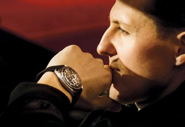 orologi omega cronografo co-axial michael schumaker
