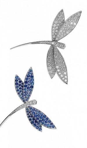 gioielli reali inglesi camilla duchessa spille van cleef arpels diamanti zaffiri