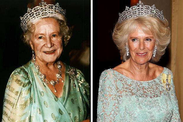 gioielli reali inglesi camilla duchessa tiara greville diamanti diadema