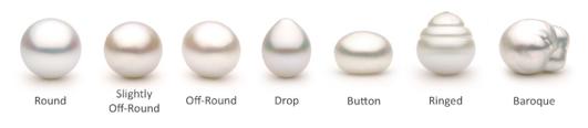 come scegliere le perle diverse forme naturali