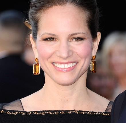 gioielli con topazio Susan Downey orecchini topazio imperiale