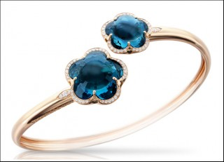 gioielli con topazio bracciale pasquale bruni topazio blu london