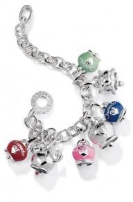 consigli per gioielli di natale bracciale chantecler campanelle argento smalto