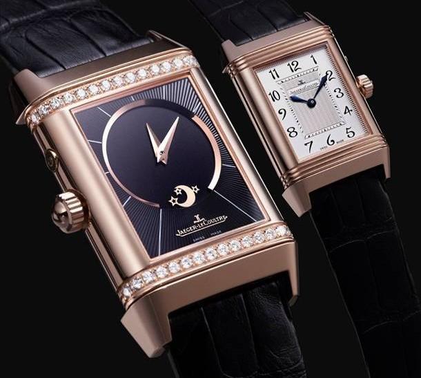 orologio reverso jaeger lecoultre duetto oro diamanti