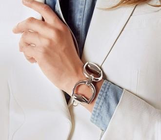 bracciale horsebit gioielli gucci argento