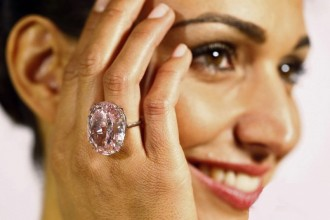 gioielli più costosi del mondo anello diamante rosa