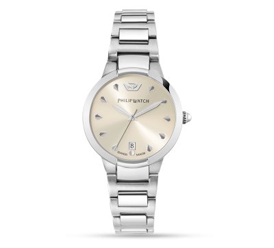 orologi-philip-watch-corley-donna-solo-tempo-acciaio