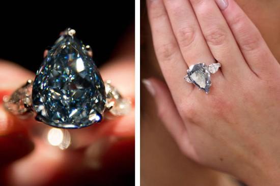 winston blue diamante blu gioielli più costosi del mondo