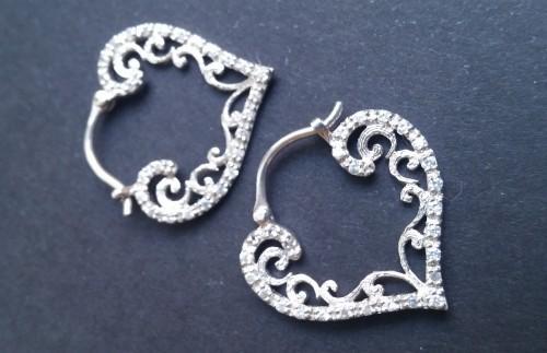 juwelo gioielli orecchini argento