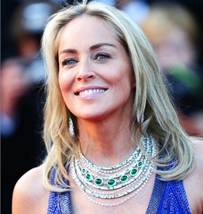 sharon stone donna estate smeraldi