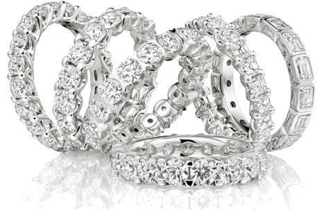 gioielli leo mathild veretta diamanti eternity