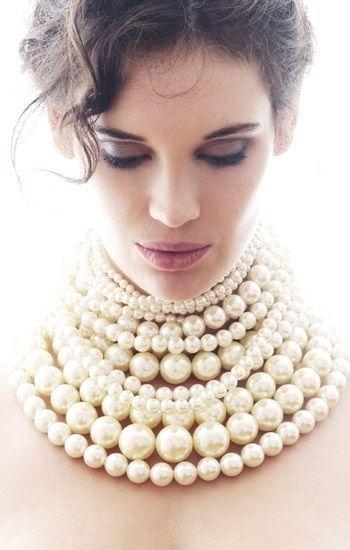 gioielli con perle vere perle false