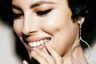 crivelli gioielli orecchini glance diamanti pendenti cerchio brillanti