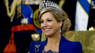 gioielli reali olandesi regina Maxima Olanda tiara diamanti zaffiri incoronazione