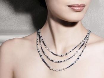 gioielli con zaffiri crivelli girocollo diamanti tennis